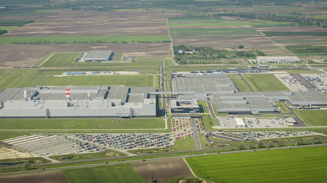 Mercedes Benz Plant Obuda Group
